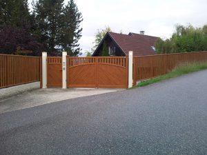 Portail-battant-portillon-clôture-Aluminium-ton-bois-Marlioz