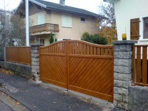 Portillon-clôture-Aluminium-ton-bois-Ayse