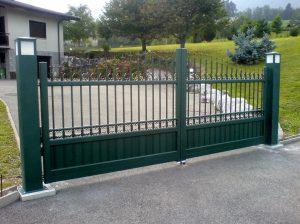 Portail-Battant-Aluminum-gris-Boussy
