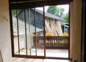 Porte-fenêtre-Aluminium-ton-bois-Annemasse