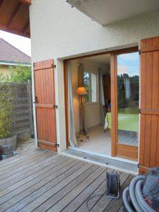 Porte-fenêtre-Aluminium-ton-bois-Scionzier