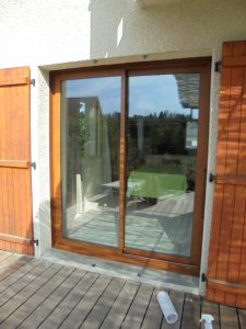 Porte-Fenêtre-Aluminium-ton-bois-Marignier